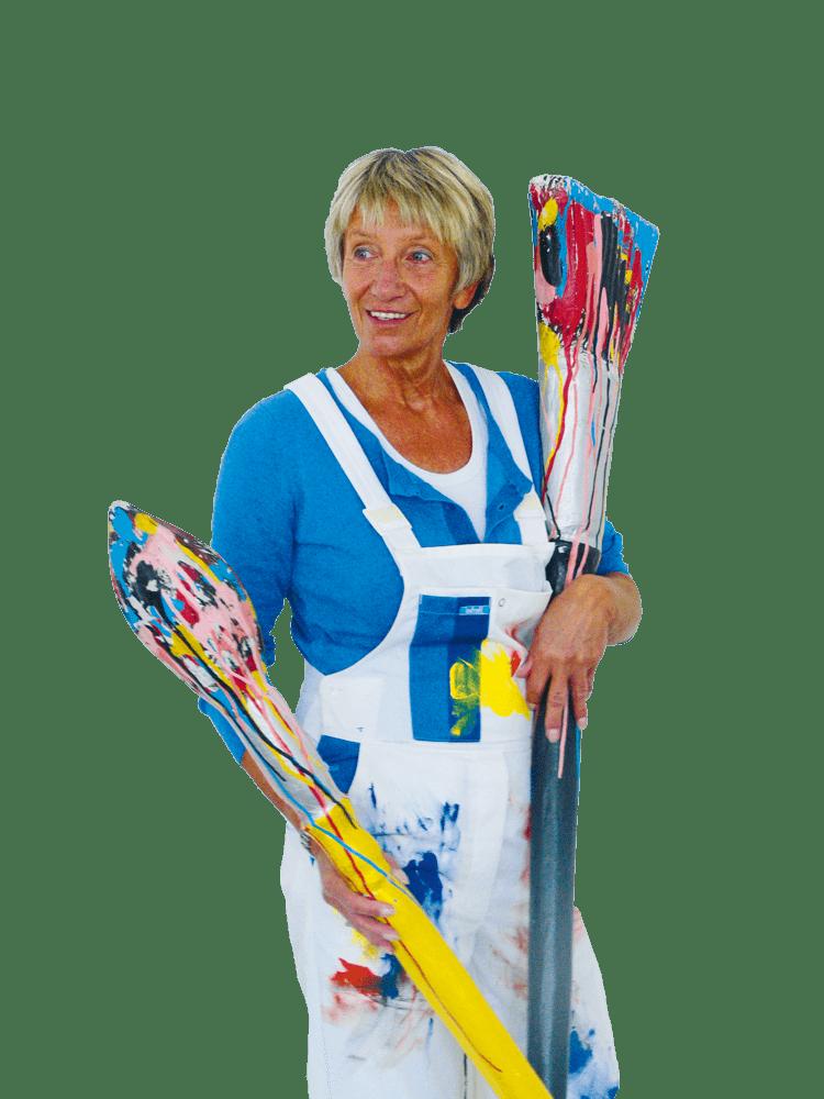 Birgit Schwartz-Glonnegger, Freischaffende Künstlerin